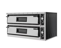 Italinox Prisma Plus XL99 Twin Deck Electric Pizza Oven