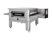 Italinox Prisma 32 inch Belt Gas Conveyor Pizza Oven C/80 With + Free Stand