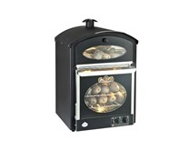 King Edward Bake King Large Potato Oven Black - Made In The UK