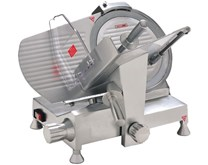 Quattro Heavy Duty 12 inch - 300mm Catering Meat Slicer With Emergency Stop