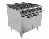 Falcon Dominator 6 Burner LPG Commercial Range Cooker
