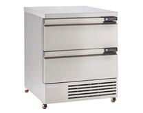 Foster Stainless Steel 4x1/1GN FlexDrawer Fridge Freezer FFC4-2 Storage With Castors