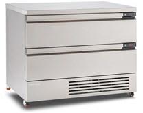 Foster Stainless Steel 6x1/1GN FlexDrawer Fridge Freezer FFC6-2 Storage With Castors