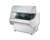Gemini GEM100SL 1Mtr Wide White Slimline Static Serve Over Counter