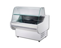 Gemini GEM120SL 1.2Mtr Wide White Slimline Static Serve Over Counter