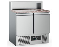 Combisteel Ecofrost Refrigerated Pizza - Sandwich Prep Marble Top PS900