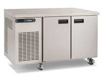Foster Xtra 280 Litre 1/2 Refrigerated 2 Door Prep Counter XR2H with Castors