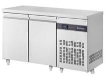 Inomak Refrigerated 2 Door 274 Litre Prep Counter 1/1 Gastronorm PN99-ECO + Castors