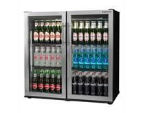 Autonumis Popular Hinged Stainless Steel 2 Door Bottle Cooler 2 Year Warranty
