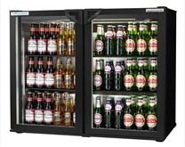 Autonumis EcoChill Maxi Black Double Hinged Door Bottle Cooler 2 Year Warranty