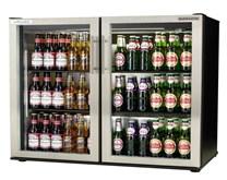 Autonumis EcoChill Maxi S/Steel Double Door Bottle Cooler with 2 Year Warranty