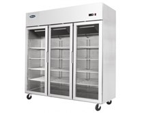 Gastroline Glass Triple Door Refrigerator With Removable Refrigeration Cassette