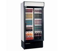 Staycold Commercial Double Sliding Glass Door Display Fridge SD890
