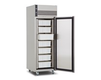 Foster EcoPro EP700 600 Litre Stainless Steel Fish Fridge - Castors + 7 Trays