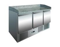 Ice-A-Cool ICE3852GR  Granite Top Pizza Prep 3 Door Counter S903PZ