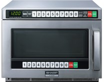 Box Opened Sharp R1900M 1900w 21ltr Commercial Microwave With 3 Year Warranty