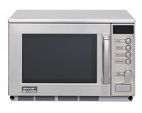 Sharp R23AM 1900w Commercial Microwave 3 Year Warranty