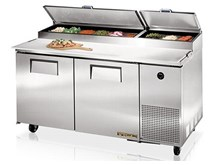 True TPP-67 Refrigerated Prep Counter With 5 Years Parts & Labour Warranty