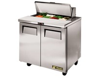 True TSSU 36-8 Refrigerated Prep Counter With 5 Years Parts & Labour Warranty