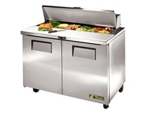 True TSSU 48-12 Refrigerated Prep Counter With 5 Years Parts & Labour Warranty