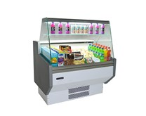 Blizzard Zeta Slim Serve Over Counter 2 Door 1305mm Wide