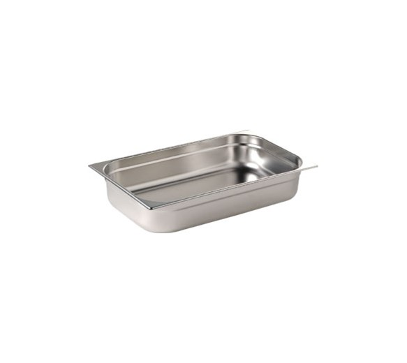 Quattro 1/1 Full Size Gastronorm Pan 150mm Deep Stainless Steel