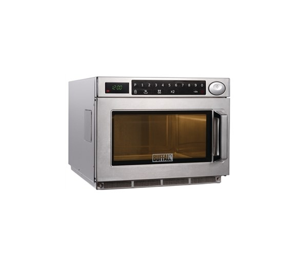 Buffalo 1850w Commercial Flatbed Microwave with 2 Year Warranty
