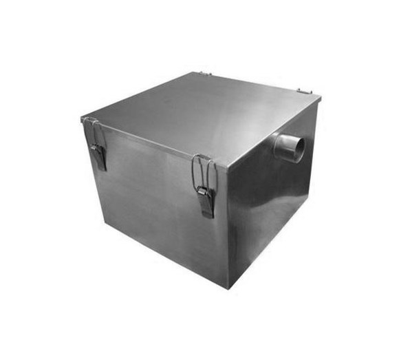 Stainless Steel 18kg / 60  Litre Grease Trap - Fat Separator