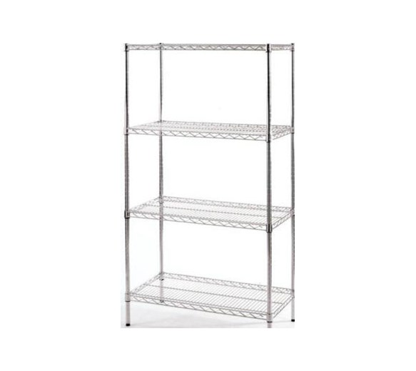 4 Tier Quattro Adjustable Racking 760mm Wide