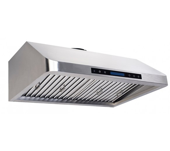 Combisteel 900mm Compact Commercial Extractor Hood with Motor, Filters, Lights