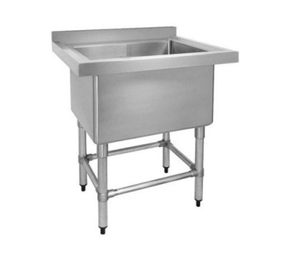 Quattro Single Stainless Steel Pot Wash Sink