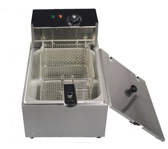 9 Litre Tank (6 Litre Oil) Countertop Commercial Deep Fat Fryer