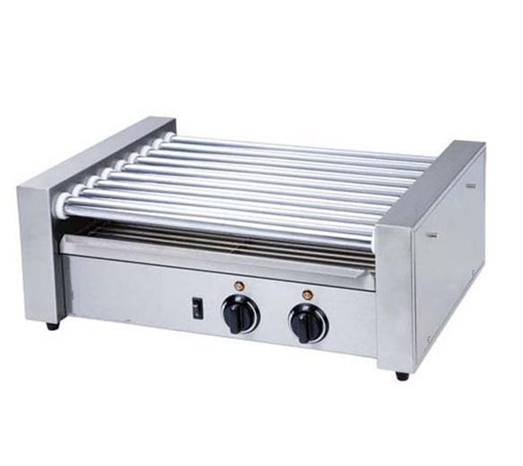 Quattro Premium Hot Dog Roller x 8 Rollers