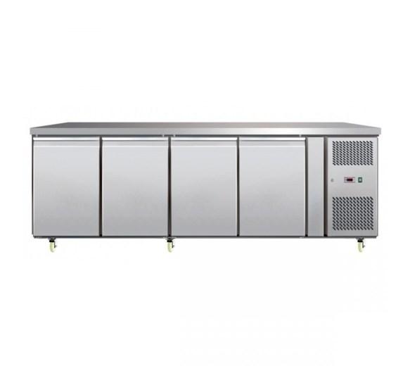 Atosa EPF3482 4 Door Freezer Prep Counter 700mm Deep