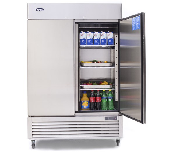 Ice-A-Cool 1300  Litre Double Door Stainless Steel Refrigerator ICE8960
