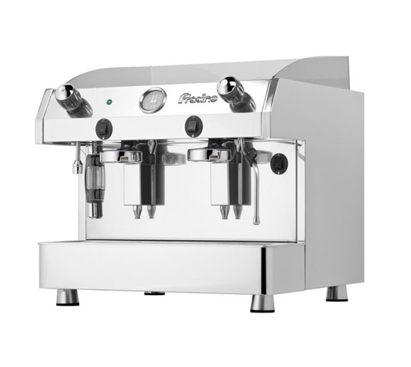 Fracino Luxury Bambino Semi Automatic Auto Fill Coffee Machine 2 Group BAM2L