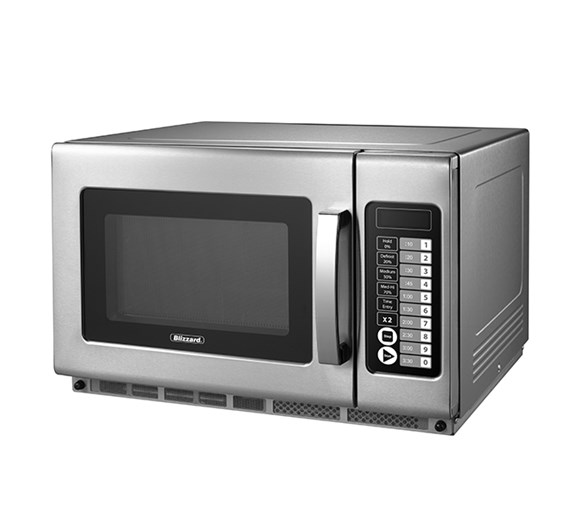 Blizzard BCM2100 - 2100w Heavy Duty Programmable Microwave With 2 Years Full War