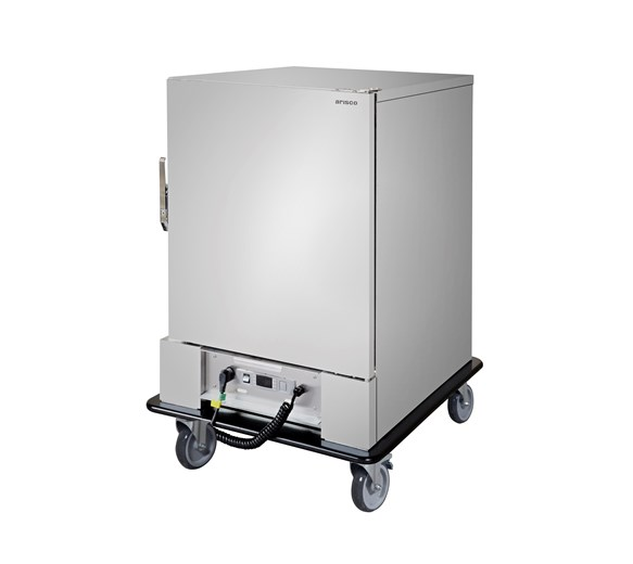 Arisco Electric Heated Mobile Banquet Trolley -  6 x 2/1 GN Size