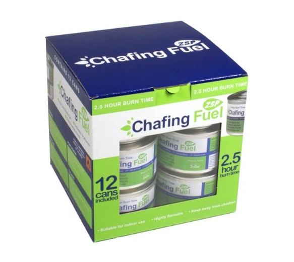 3.5 Hour Eco Ethanol Gel Chafing Fuel Pack of 12