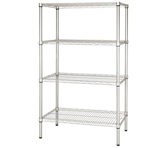 Quattro 4 Tier Storage Racking 1200mm Wide Adjustable Shelves