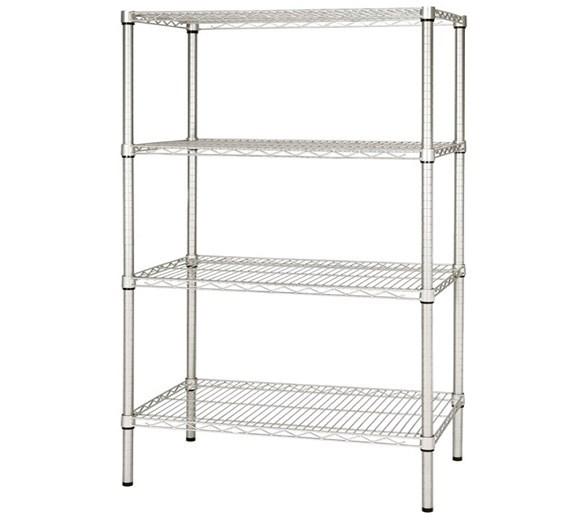 Quattro 4 Tier Storage Racking 1800mm Wide. Adjustable Shelves