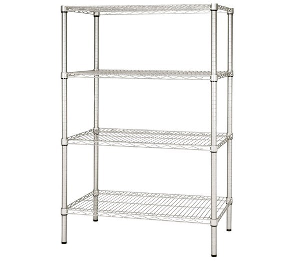 4 Tier Storage Racking 1800mm Wide. Adjustable Shelves
