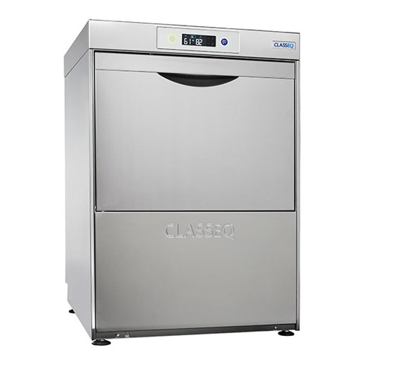 Classeq D500DUO 500mm Dishwasher Drain, Rinse Aid, Detergent Pumps. 3 Phase