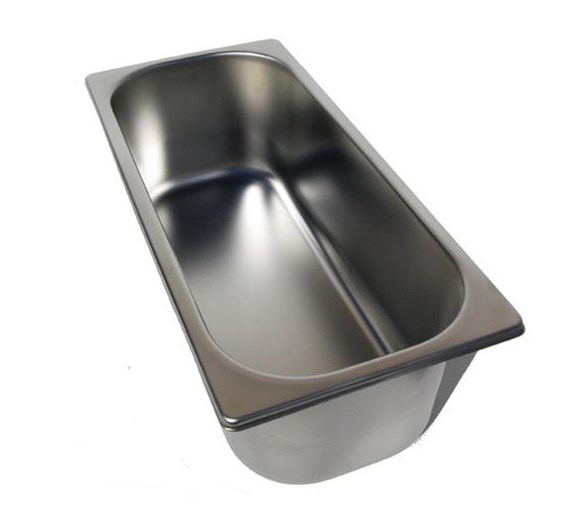 Quattro CS Stainless Steel Ice Cream Tray 5 Litre
