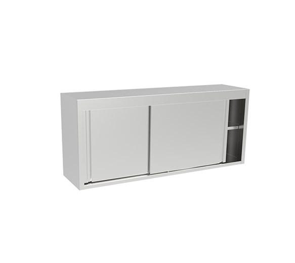 Inomak ET311A Stainless Steel Wall Mounted Storage Cupboard 1100mm Wide