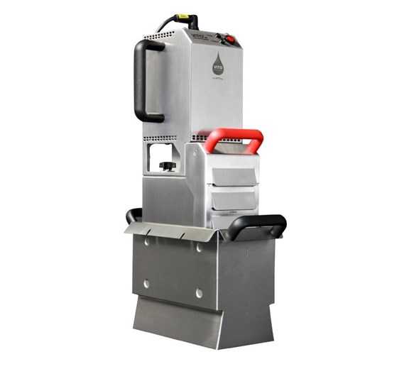 Valentine Vito Oil Filter System V80 for Fryers Up To 45 Litre Capacity