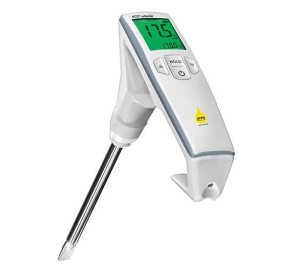 Valentine Vito TPM Oil Tester with Digital Temperature Display