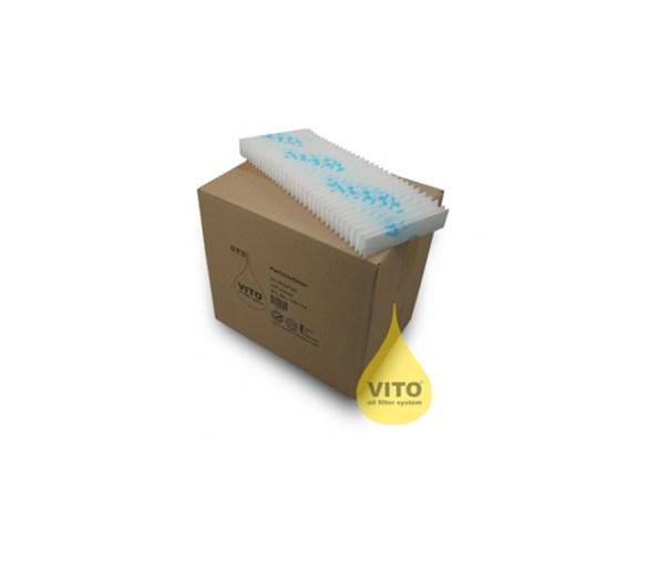 Valentine Vito 50 & 80 Cellulose Particle Filters For Vito 50 & 80 Oil Filters
