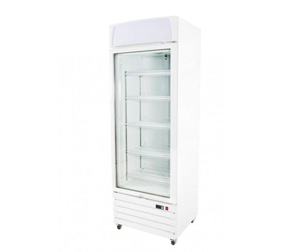 Prodis XD1NW Glass Door Freezer Display Merchandiser With 5 Adjustable Shelves