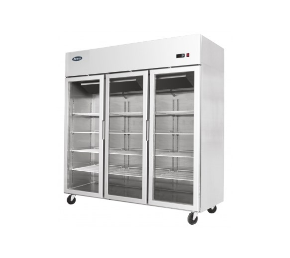 Gastroline Glass Triple Door Freezer